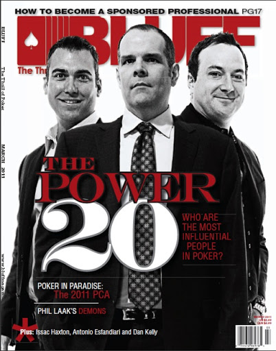poker royalty bluff magazine cover